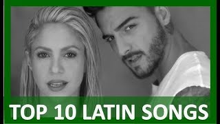 TOP 10 LATIN SONGS  (FEBRUARY 3, 2018)