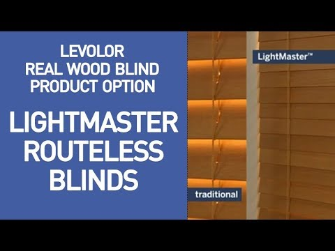Levolor Blinds with Lightmaster