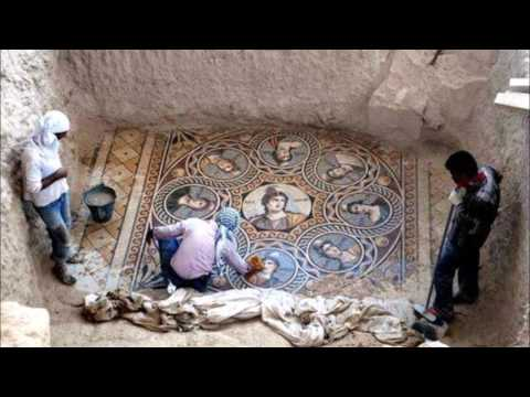 Mosaic Floors - Ancient Greece