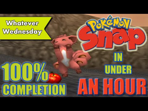 Pokemon Snap - 100% Completion in UNDER AN HOUR!