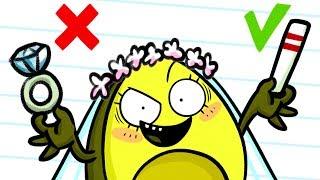 Top 10 Marriage Proposal FAILS | Girl Says No - Cartoons