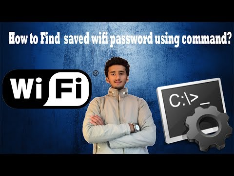 how to find saved wifi password  using command prompt
