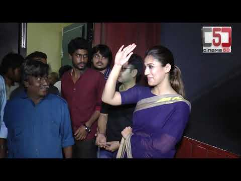 Xxx Mp4 Actress Nayanthara Visit Rohini Theatre For Aramm Promotions Cinema5d C5D 3gp Sex