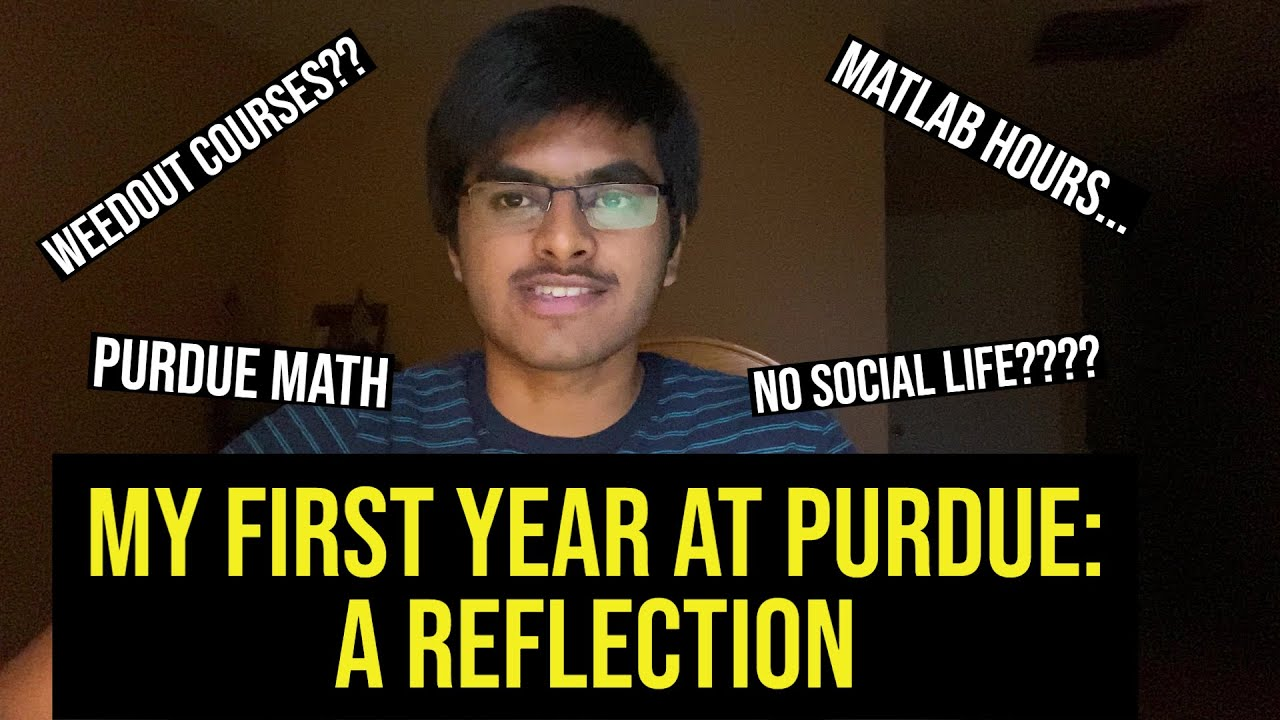 My First Year at Purdue Engineering: A Reflection