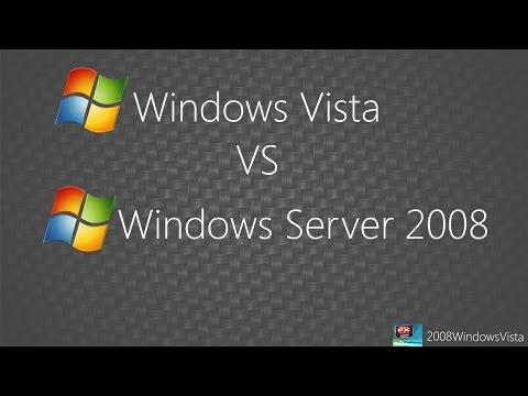 Windows Vista vs Windows Server 2008: Speed test and Memory Usage