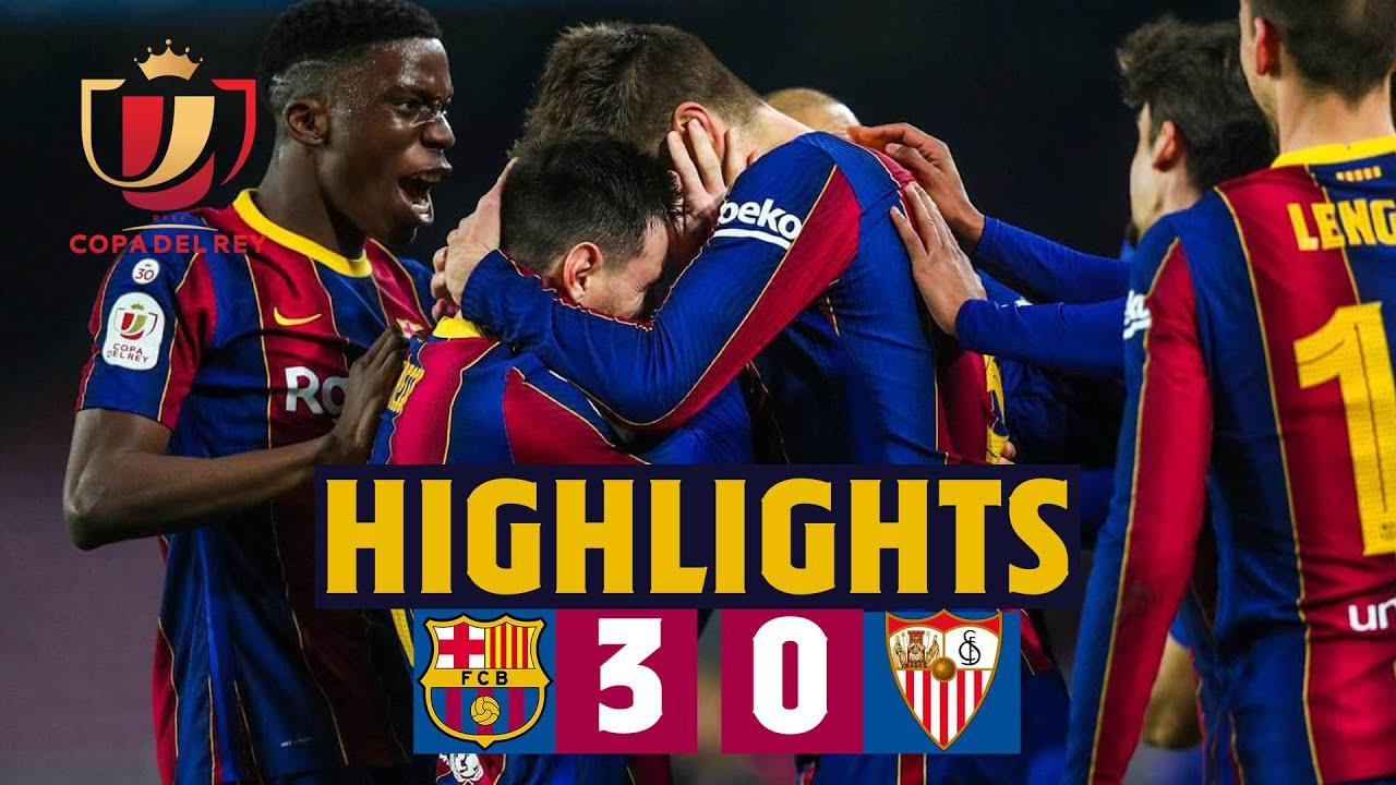 🤯 Comeback worthy of a final!   HIGHLIGHTS   Barça 3-0 Sevilla