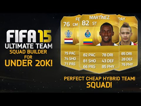 FIFA 15 | PERFECT SUPER CHEAP HYBRID TEAM for UNDER 20k! | Squad Builder #58