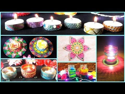 8 DIY- Diwali Decoration Ideas ( Easy and Creative) Best Room Decor Ideas