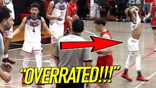 Julian Newman OT GAME WINNER After Getting OVERRATED CHANTS All Game!