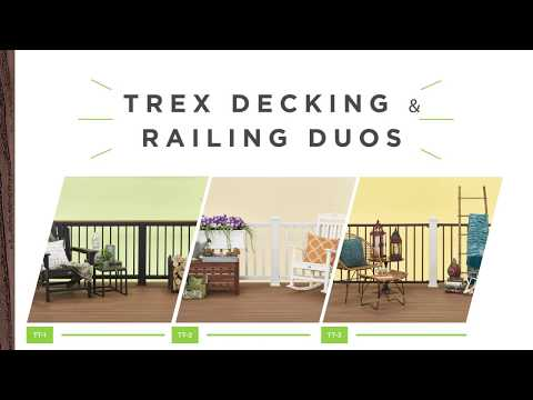 Trex Duos - Easy Decking & Railing Combinations