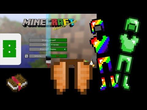 Minecraft - Add Custom Armor, Elytra & Glint Textures! (Resource Pack Tutorial)
