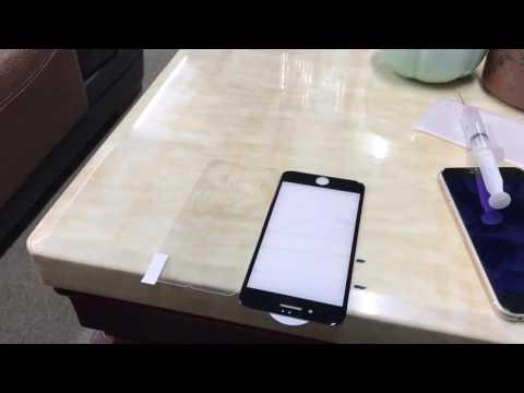 VRURC Fingerprint Oil Test for Tempered Glass Screen Protector