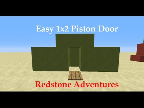 Easiest 1x2 Piston Door - SloppyPlays