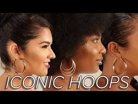 Hoop Earring Icons Throughout History