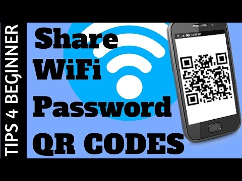 How to Share wifi password with qr code  & Connect WiFi Without Password | WiFi Tricks