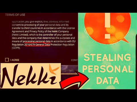 Nekki Stealing Personal Data? Must Watch!
