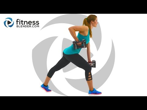 Total Body Strength Workout for People who get Bored Easily - Total Body Burnout
