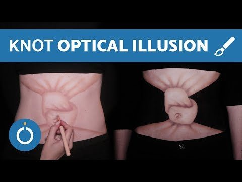 Belly Knot Optical Illusion - BODY MAKEUP