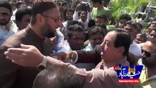 Mumtaz Khan Met  Asad owaisi @ Darussalam