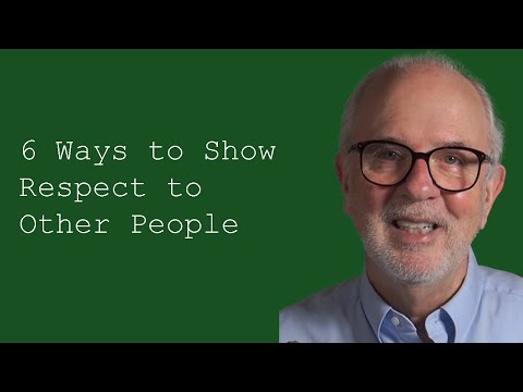 Six Ways to Show Respect to Other People: Customer Service Training Videos