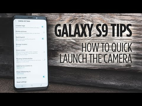 Samsung Galaxy S9 Tips - How to Quickly Launch the Camera