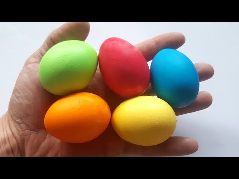 Egg Coloring - How to dye Easter Eggs - Tutorial 🐣Happy Easter 🐣