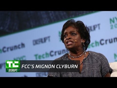 Defending the Internet with the FCC's Mignon Clyburn   Disrupt NY 2017