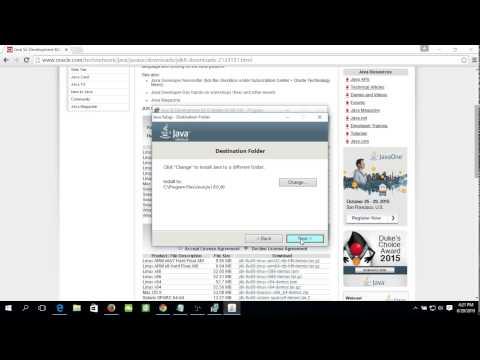 Install JDK 8 on Windows 10