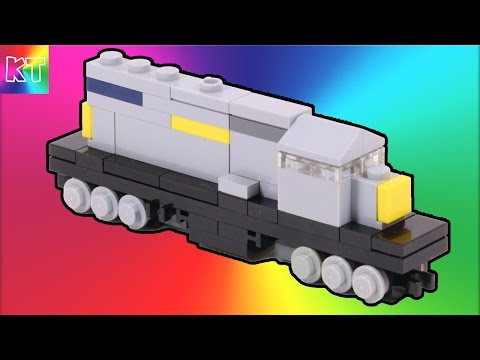 Lego Mini Diesel Train Speed Build Review - Cars for Kids