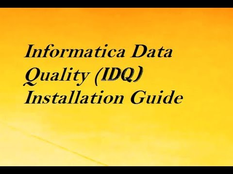How To Install IDQ in Windows