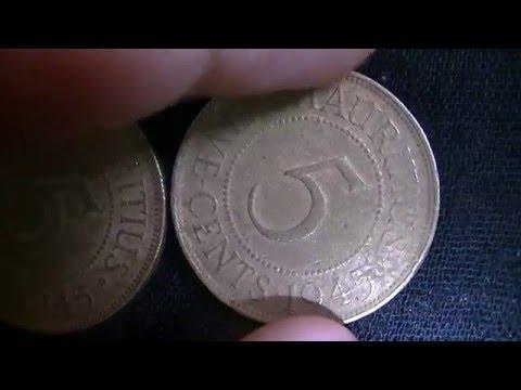 rare coin of mauritius
