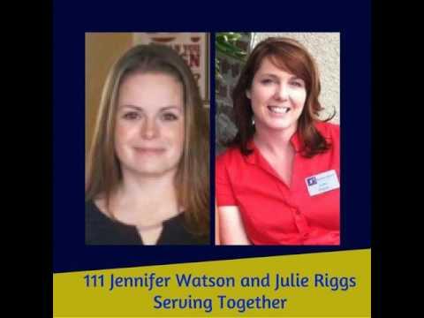 111 Jennifer Watson and Julie Riggs - Serving Together