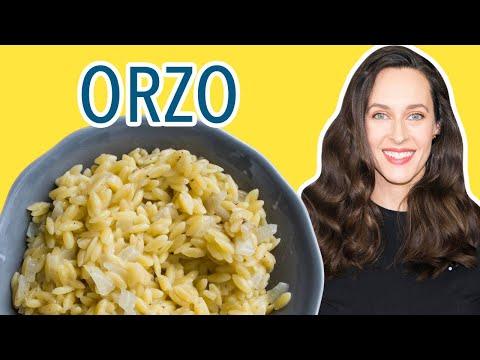 Creamy Orzo Recipe Demo - How to Make Orzo