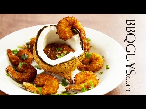 How to make Fried Coconut Shrimp with Chipotle Adobo Dipping Sauce - Recipe - BBQGuys.com