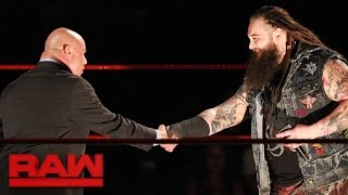 Bray Wyatt introduces himself to Kurt Angle: Raw, May 1, 2017