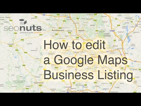 How to edit Google Maps Listing - SEO Nuts