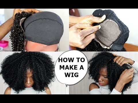 QUICK & EASY - HOW TO MAKE A WIG TUTORIAL FOR BEGINNERS