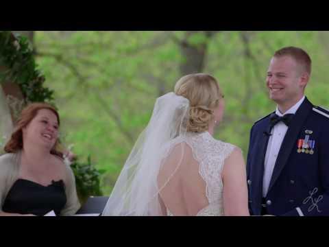The Springs Tulsa Wedding   Air Force Wedding  Tulsa Videographer   Taylor and Christopher