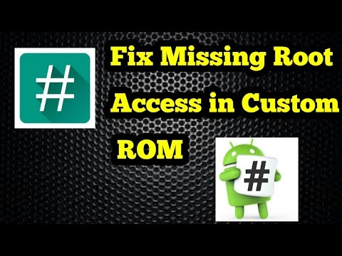 Fix 'Failed to  Root' [2018] - Regain Root Access After Flashing Custom ROMs.