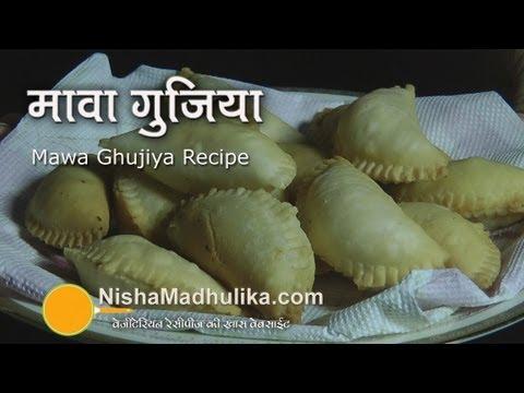 Gujiya Recipe | Mawa Gujiya Recipe | How to make Gujiya