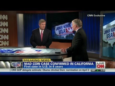 Ag. secy. on 'mad cow': I'm eating beef