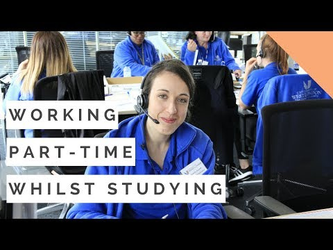 Getting a part-time job during Uni | Benefits of working whilst studying | Student vlog