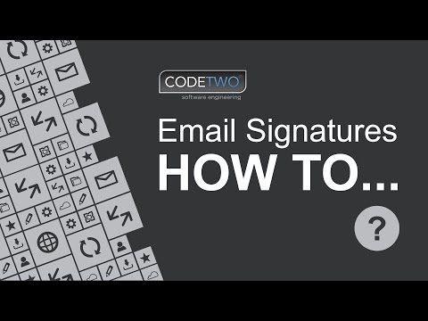 How to set up a global email signature in Office 365