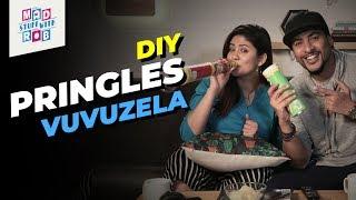 How to make DIY Pringles Vuvuzela Ft. Shanice Shrestha