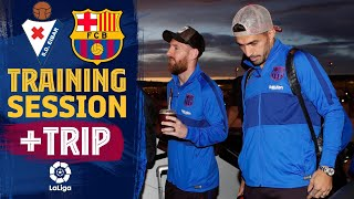 Last workout in Barcelona and trip to Eibar