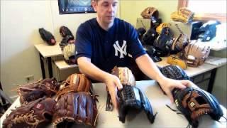 Nokona vs Wilson and Rawlings Baseball Gloves Rich