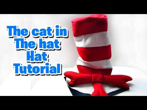 Hat Tutorial (The cat in the hat themed party)