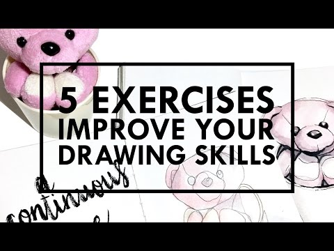 Improve Your Drawing Skills | How can I improve my drawing skills?