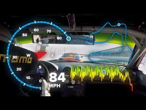 EPIC Spec Miata Finish | GoPro GPS Data Overlay