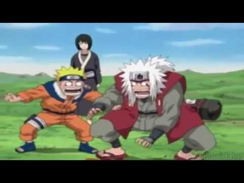 Jiraiya,Naruto, and Tsunade vs Kabuto and Orochima